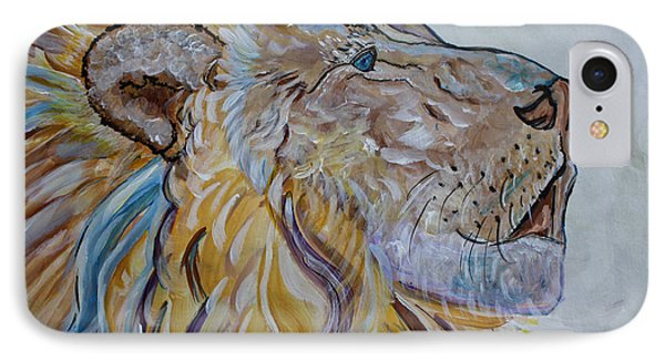 The Lion Call IPhone Case by Ella Kaye Dickey