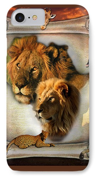 The Lion King From Africa Phone Case by Nadine May