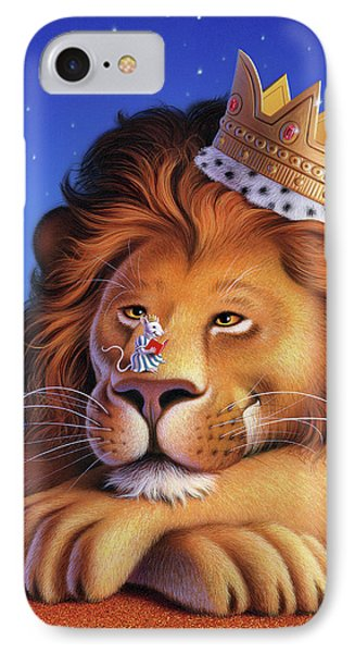The Lion King IPhone Case by Jerry LoFaro