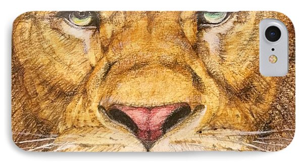 The Lion Roar Of Freedom Phone Case by Kent Chua