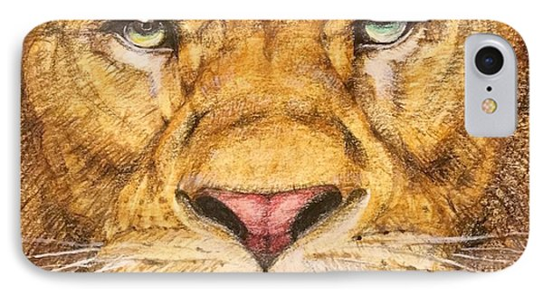 The Lion Roar Of Freedom IPhone Case by Kent Chua