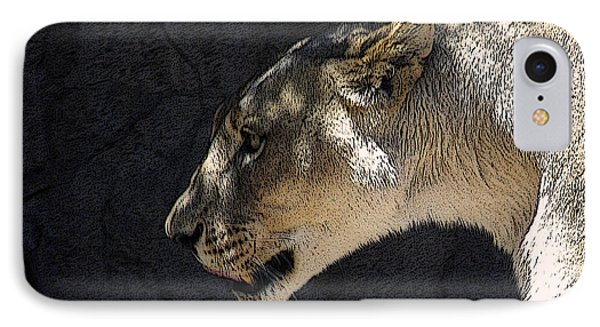 The Lioness Phone Case by Ernie Echols