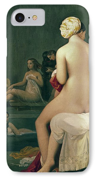 The Little Bather In The Harem IPhone Case by Jean Auguste Dominique Ingres