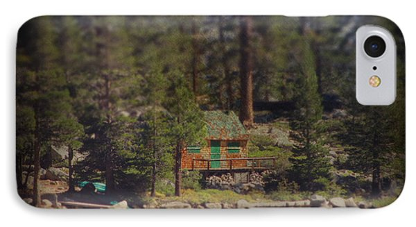 The Little Cabin Phone Case by Laurie Search