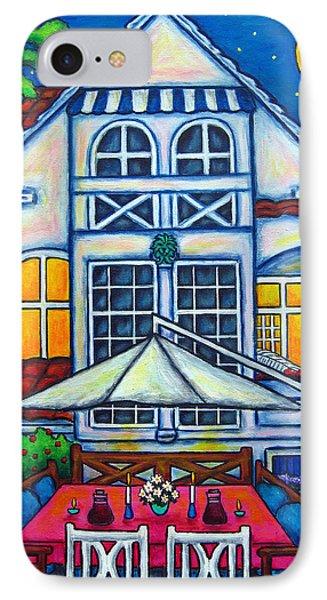 The Little Festive Danish House Phone Case by Lisa  Lorenz
