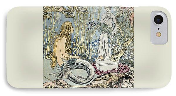 The Little Mermaid IPhone 7 Case by Ivan Jakovlevich Bilibin