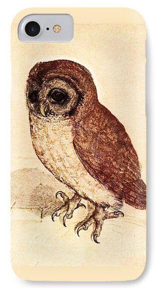 The Little Owl Phone Case by Pg Reproductions