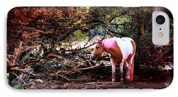 The Little Pink Unicorn By Pedro Cardona Phone Case by Pedro Cardona Llambias