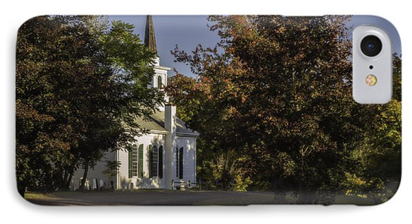 The Little White Church IPhone Case by Eduard Moldoveanu
