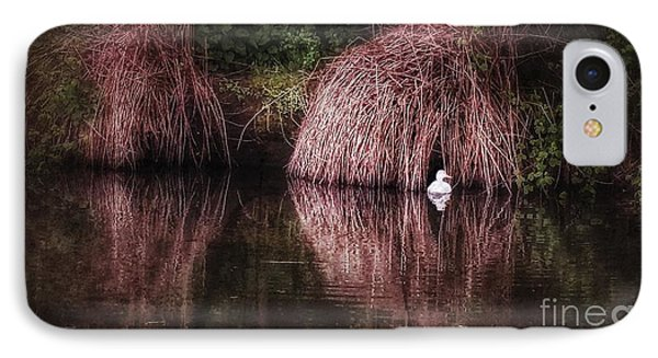 The Little White Duck IPhone Case by Isabella F Abbie Shores FRSA