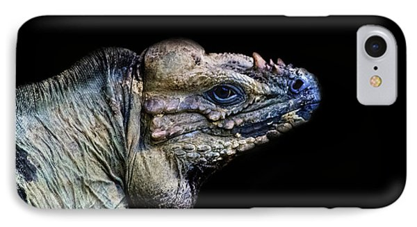 Salamanders iPhone 7 Case - The Lizard King by Martin Newman