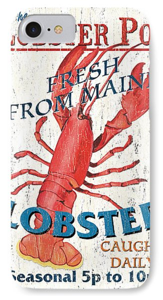 The Lobster Pot IPhone Case by Debbie DeWitt