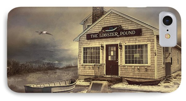 IPhone Case featuring the photograph The Lobster Pound by Robin-Lee Vieira