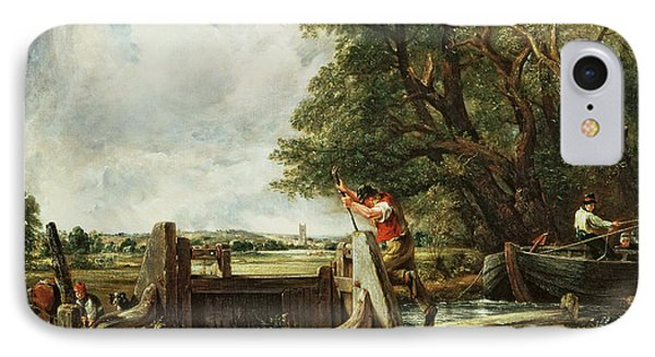The Lock Phone Case by John Constable