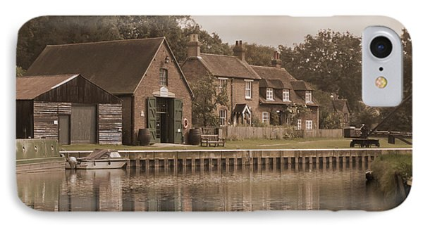 The Lock Keeper's Cottage Phone Case by Terri Waters