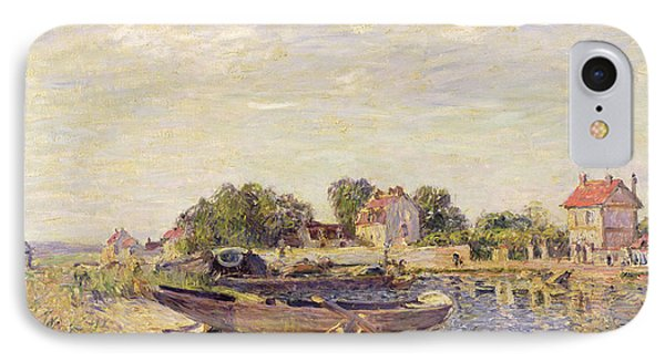 The Loing At Saint Mammes 1885 Phone Case by Alfred Sisley