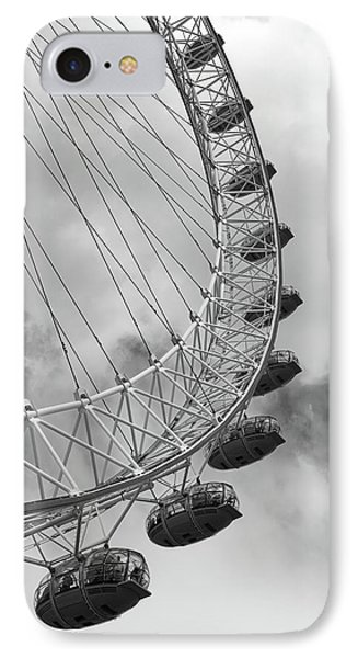 IPhone 7 Case featuring the photograph The London Eye, London, England by Richard Goodrich