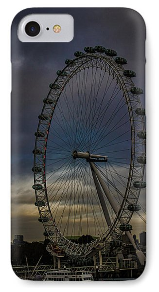 The London Eye IPhone Case by Martin Newman