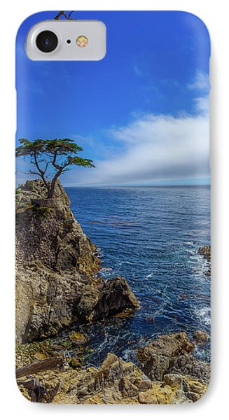 The Lone Cypress 17 Mile Drive IPhone Case by Scott McGuire