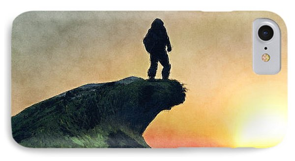 The Lone Explorer... IPhone Case by Tim Fillingim