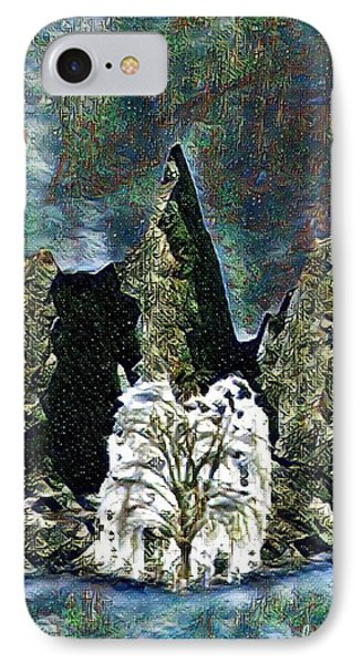 The Loneliest Tree IPhone Case by Vennie Kocsis