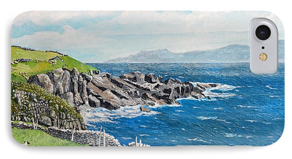 The Lonely Cliffs Of Dingle, Ireland IPhone Case by Dan O'Neill