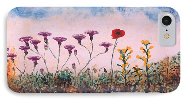 The Lonely Poppy IPhone Case