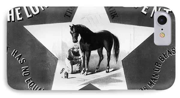 The Lonestar Liniment Phone Case by Bill Cannon