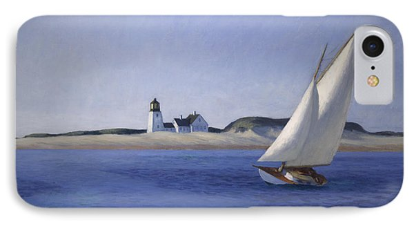 The Long Leg IPhone Case by Edward Hopper