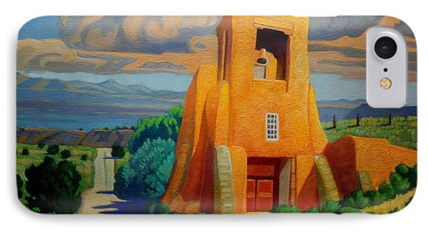 The Long Road To Santa Fe IPhone Case by Art West