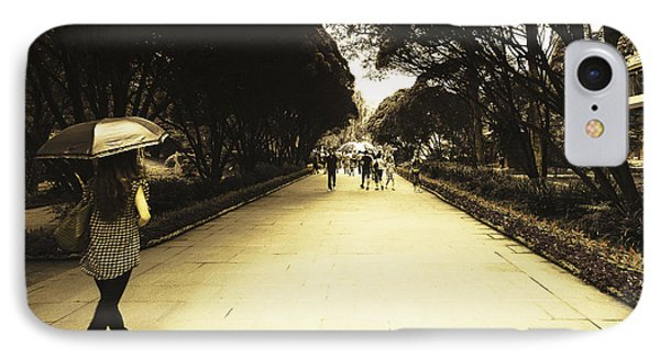 The Long Walk IPhone Case by Patrick Kain