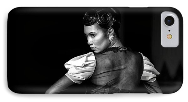 The Look IPhone Case by Charuhas Images