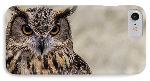 The Look Of An Owl IPhone Case by Martin Newman