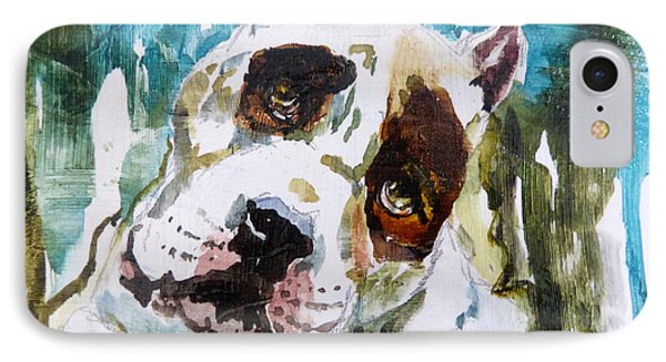 IPhone Case featuring the painting The Look Of Love by P Maure Bausch