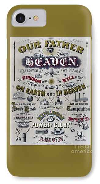The Lords Prayer IPhone Case by Edward Fielding