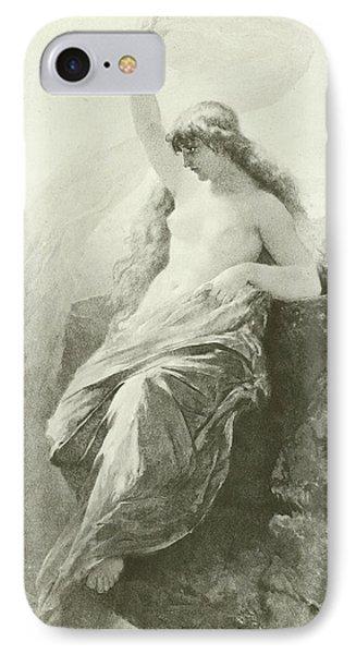 The Lorelei  IPhone Case by Wilhelm Kray