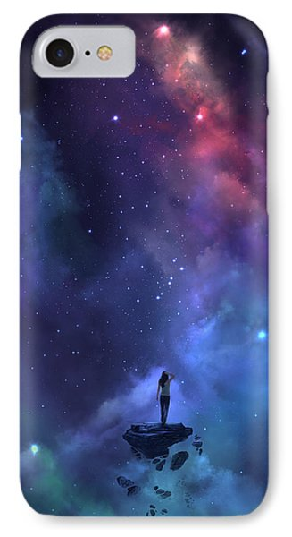 IPhone Case featuring the digital art The Loss by Steve Goad