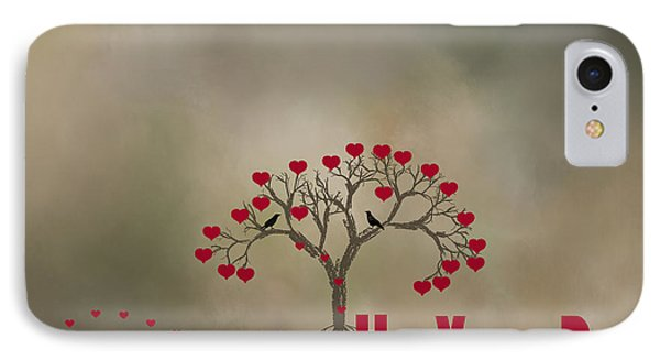 IPhone Case featuring the photograph The Love Tree by Darren Fisher