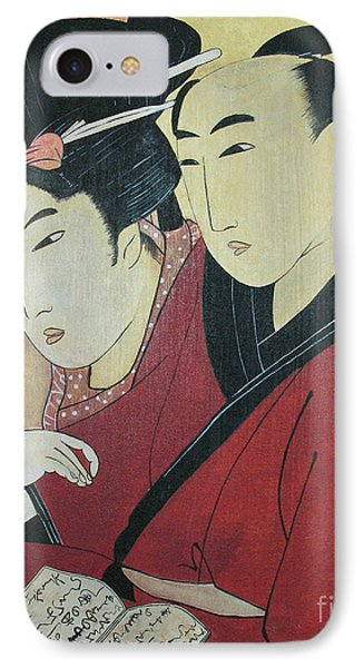 The Lovers Ohan And Chomon  Phone Case by Carrie Jackson