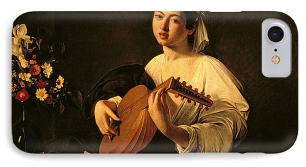 The Lute Player IPhone Case by Michelangelo Merisi da Caravaggio