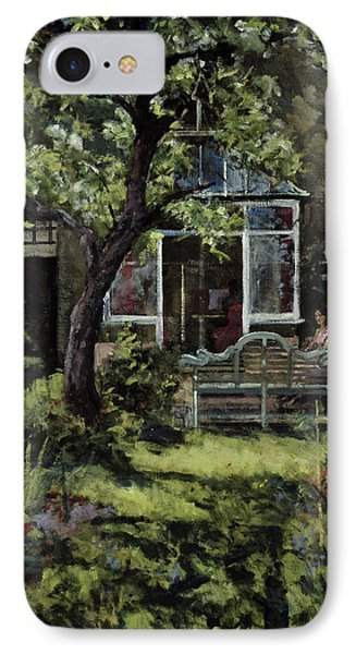 The Lutyens Bench IPhone Case by Christopher Glanville