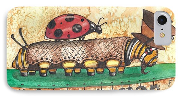 The Mad Caterpillar Phone Case by Sheri Athwal