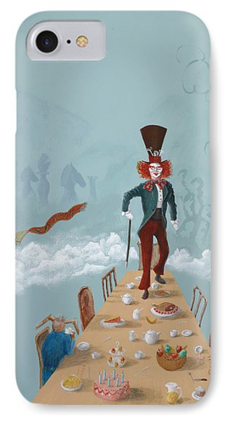 The Mad Hatter Tea Party IPhone Case
