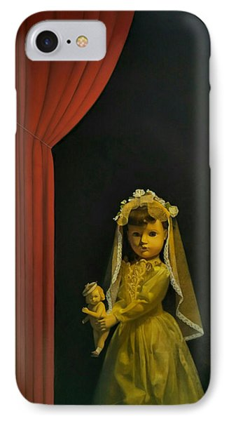 The Madonna And Child IPhone Case by Weiyu Xia