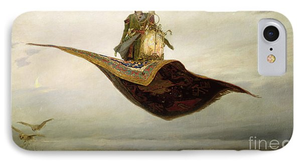 The Magic Carpet IPhone Case by Apollinari Mikhailovich Vasnetsov