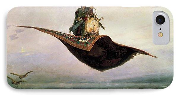 The Magic Carpet IPhone Case by Vikor Vasnetsov