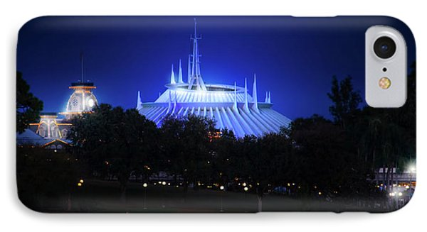 IPhone Case featuring the photograph The Magic Kingdom Entrance by Mark Andrew Thomas