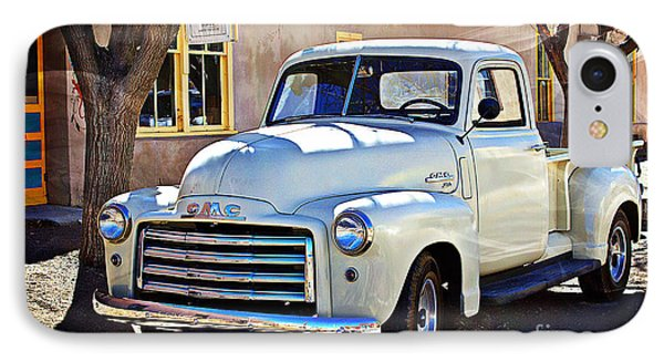 The Magic Of The 1949 Gmc 100 IPhone Case by Barbara Chichester