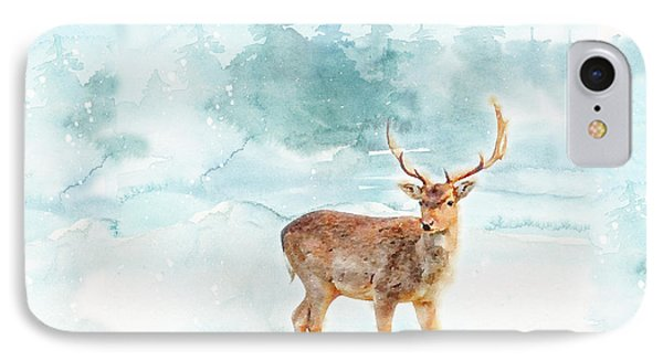IPhone Case featuring the painting The Magic Of Winter  by Colleen Taylor