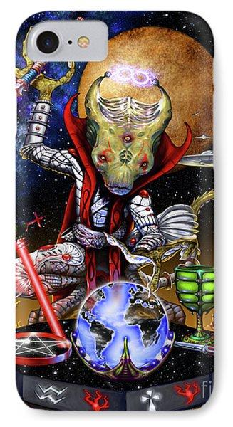 The Magician 78 Tarot Astral Card IPhone Case